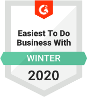 Easiest to do Business with Winter 2020